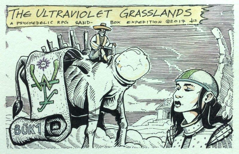 Ultraviolet Grasslands