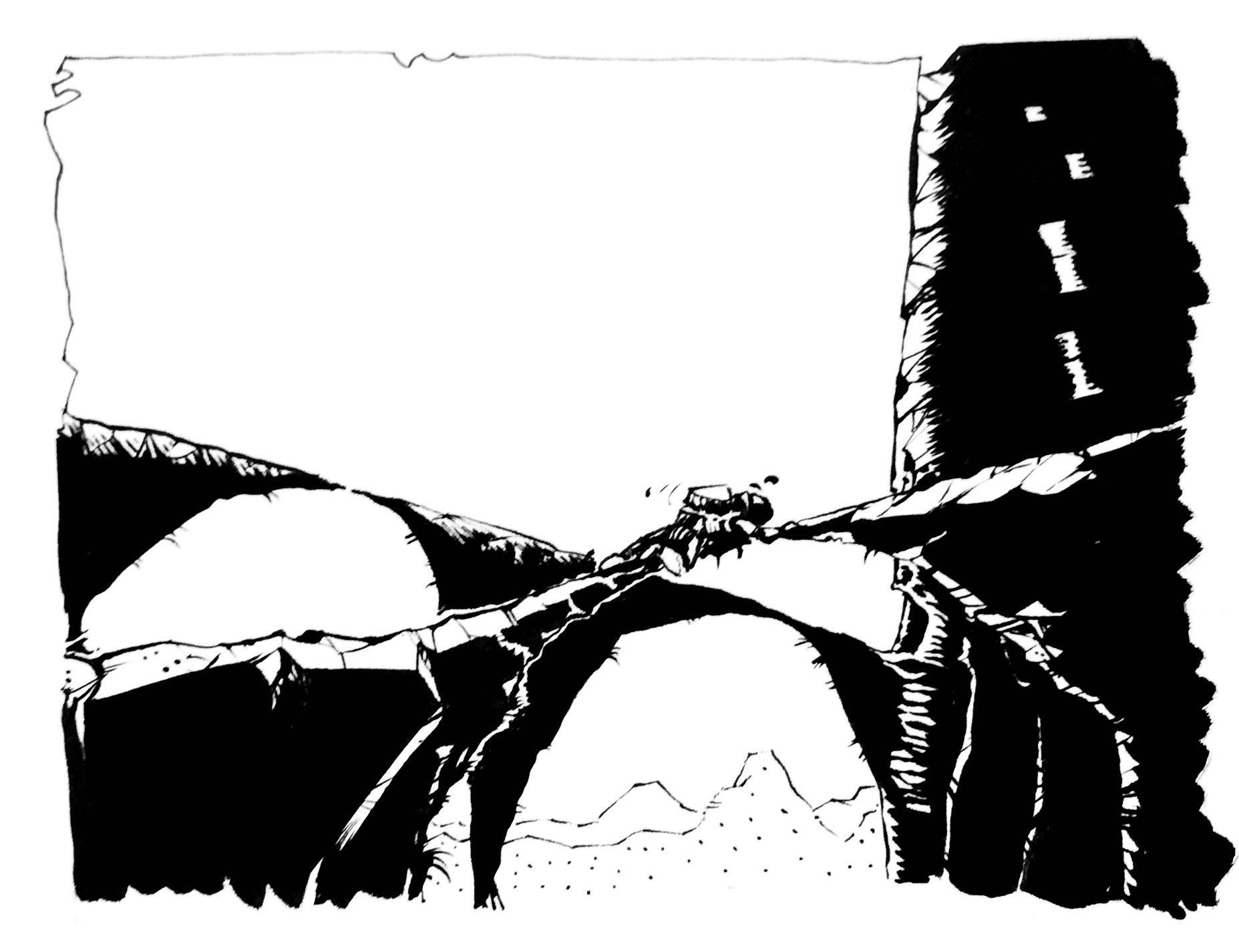Bridges over sullen waters