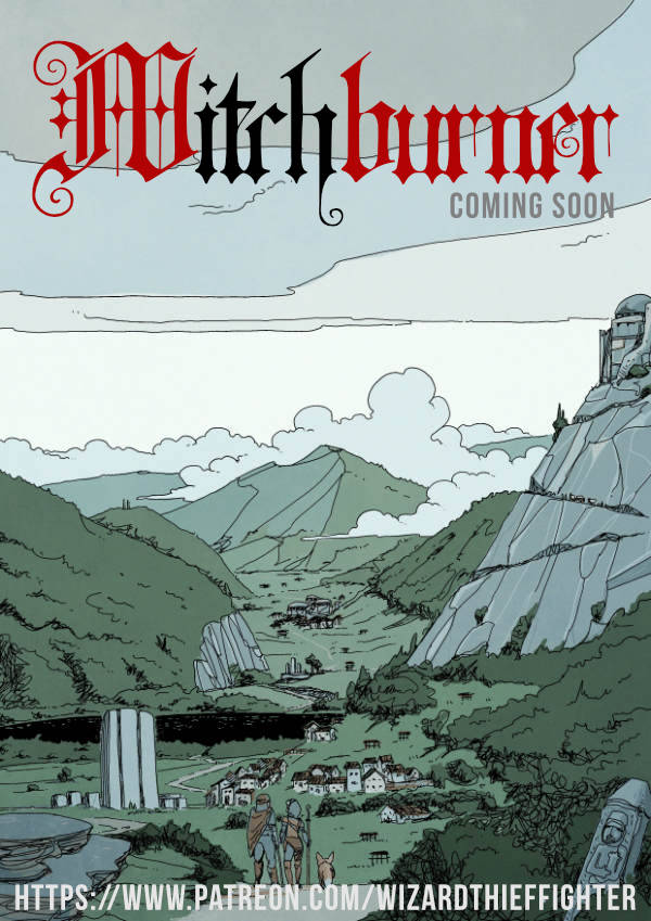 Witchburner: an intimately tragic adventure.