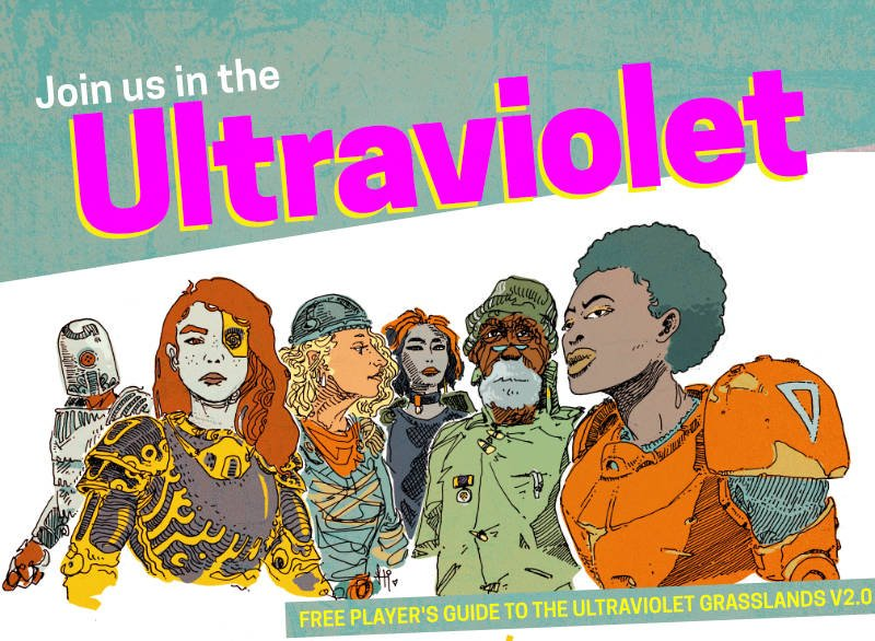 heroes of the ultraviolet